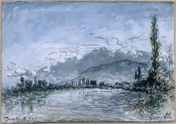 L'Isère à Grenoble (Jongkind Johan Barthold) - Muzeo.com