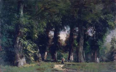 Lisière de forêt (Félix Ziem) - Muzeo.com