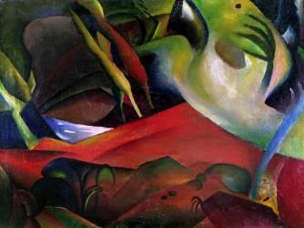 L'Orage (August Macke) - Muzeo.com