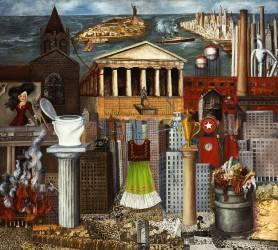 Ma robe s'étend ici (Frida Kahlo) - Muzeo.com