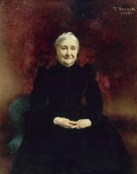 Madame Bonnat, mère de l'artiste (Léon Bonnat) - Muzeo.com