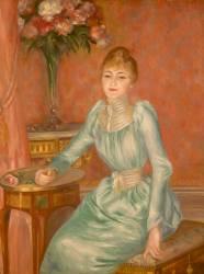 Madame de Bonnières (1854-1906) (Auguste Renoir) - Muzeo.com