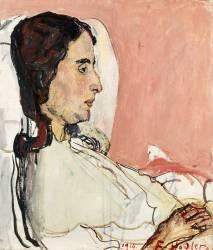 Madame Godé-Darel malade (1873-1915) (Hodler Ferdinand) - Muzeo.com