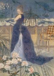 Madame Hector France, née Irma Clare (1849-1933), plus tard Mme Henri Edmond Cross (en1893) (Henri-Edmond Cross) - Muzeo.com