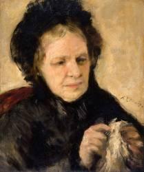Madame Théodore Charpentier (Auguste Renoir) - Muzeo.com