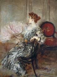 Madame Torri, danseuse à l'Opéra (Boldini Giovanni) - Muzeo.com