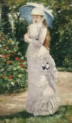 Madame Valtesse de la Bigne (1861-1910) (Gervex Henri) - Muzeo.com