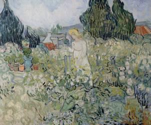 Mademoiselle Gachet dans son jardin à Auvers sur Oise (Van Gogh Vincent) - Muzeo.com