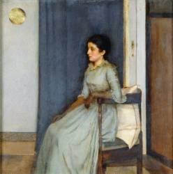 Mademoiselle Monnom (Fernand Khnopff) - Muzeo.com