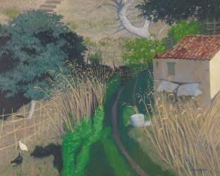 Maison et roseaux (Félix Vallotton) - Muzeo.com