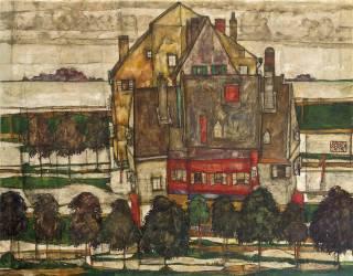 Maisons individuelles (Schiele Egon) - Muzeo.com