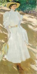 Maria à La Granja (Joaquin Sorolla y Bastida) - Muzeo.com