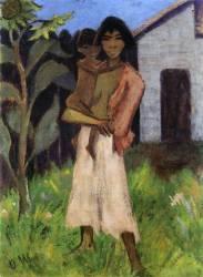 Mère et Enfant (Otto Mueller) - Muzeo.com