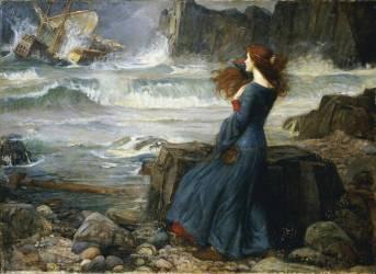 Miranda - La Tempête (John William Waterhouse) - Muzeo.com