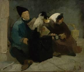 Musicien des rues (Anonyme) - Muzeo.com