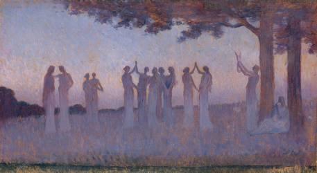 Musique et danse (Alphonse Osbert) - Muzeo.com