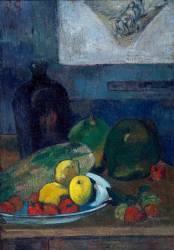 Nature morte au dessin de Delacroix (Paul Gauguin) - Muzeo.com