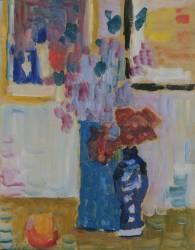 Nature Morte avec Fleurs (Alexej von Jawlensky) - Muzeo.com