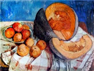 Nature Morte avec Melon (Paula Modersohn-Becker) - Muzeo.com