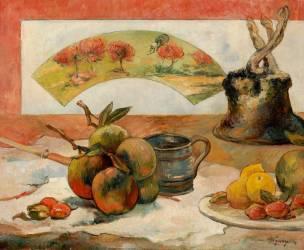 Nature morte à l'éventail (Paul Gauguin) - Muzeo.com