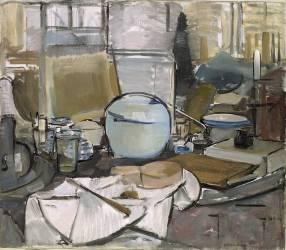 Nature morte et pot 1 (Mondrian Piet) - Muzeo.com