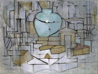 Nature morte et pot 2 (Mondrian Piet) - Muzeo.com