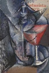 Nature Morte Verre et Siphon (Umberto Boccioni) - Muzeo.com