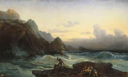 Naufrage (François Pierre Bernard Barry) - Muzeo.com