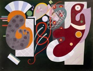 Noeud rouge (Kandinsky Wassily) - Muzeo.com