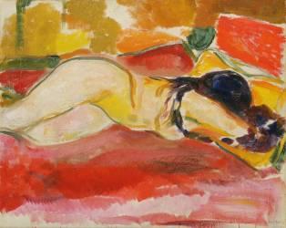 Nu féminin allongé (Edvard Munch) - Muzeo.com
