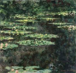 Nymphéas (Claude Monet) - Muzeo.com