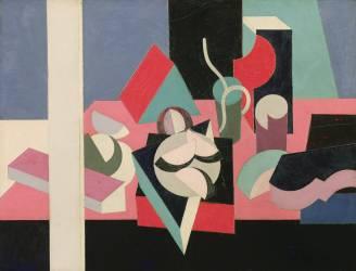 Objets sur une table (Patrick Henry Bruce) - Muzeo.com