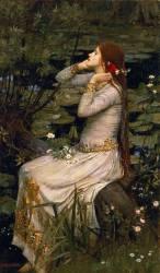 Ophélie (John William Waterhouse) - Muzeo.com