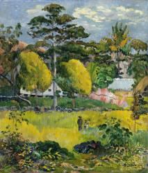 Paysage (Paul Gauguin) - Muzeo.com