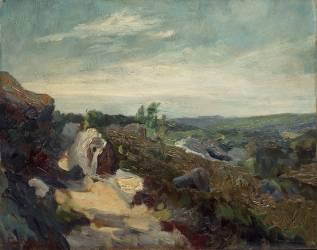 Paysage de la Creuse (Guillaumin Armand) - Muzeo.com