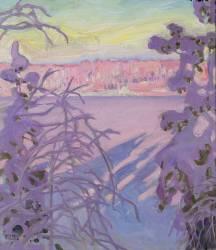 Paysage d'hiver (Akseli Gallen-Kallela) - Muzeo.com