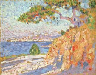 Paysage du Midi (Theo van Rysselberghe) - Muzeo.com