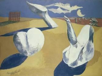 Paysage Nocture (Paul Nash) - Muzeo.com