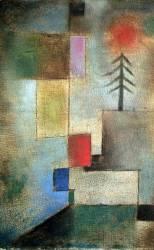 Petite image de sapin (Paul Klee) - Muzeo.com