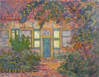 Petite maison baignée de soleil (Mondrian Piet) - Muzeo.com
