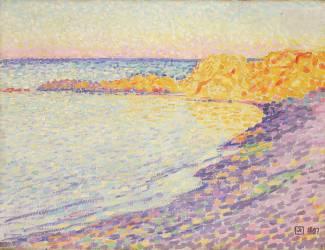 Petite Plage, Saint-Tropez (Theo van Rysselberghe) - Muzeo.com