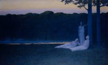 Poésie du soir (Alphonse Osbert) - Muzeo.com