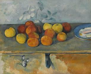 Pommes et biscuits (Paul Cézanne) - Muzeo.com