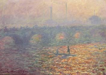 Pont de Waterloo (Claude Monet) - Muzeo.com