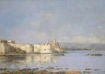 Port d'Antibes (Eugène Boudin) - Muzeo.com