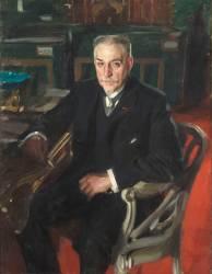 Portrait d'Alfred Beurdeley (1847-1919), ébéniste d'art et collectionneur (Leonard Zorn Anders) - Muzeo.com