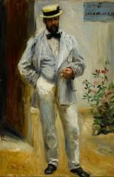 Portrait de Charles Le Coeur (1830-1906), architecte, frère du peintre Jules Le Coeur, ami de Renoir (Renoir Auguste) - Muzeo.com