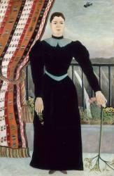 Portrait de femme (Henri Rousseau) - Muzeo.com