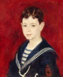 Portrait de Fernand Halphen enfant (Auguste Renoir) - Muzeo.com