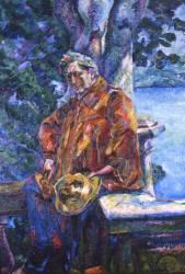 Portrait de Ferruccio Busoni (Umberto Boccioni) - Muzeo.com